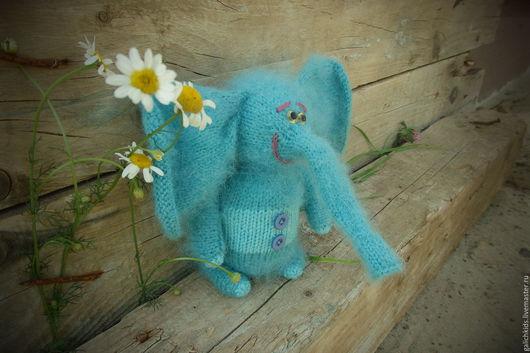 Игрушки животные, ручной работы. Ярмарка Мастеров - ручная работа. Купить Слон Чанг. Handmade. Слон, слоненок, слоник в подарок