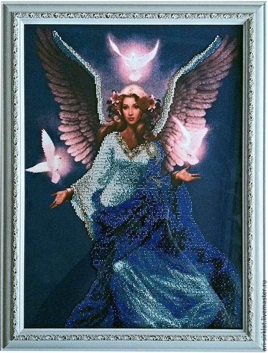 Подарочные наборы ручной работы. Ярмарка Мастеров - ручная работа. Купить Небесный Ангел. Handmade. Тёмно-синий, Праздник