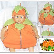 Работы для детей, ручной работы. Ярмарка Мастеров - ручная работа Костюм карнавальный (костюм на хэллоуин): Тыква, тыковка. Handmade.