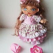 Будуарная кукла ручной работы. Ярмарка Мастеров - ручная работа Будуарная текстильная кукла Любушка. Handmade.