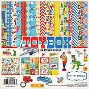 """В наличии! Набор бумаги """"Toy Box Collection Kit"""" от Carta Bella"""