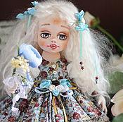 Куклы и игрушки ручной работы. Ярмарка Мастеров - ручная работа Авторская коллекционная текстильная кукла Рэйчел. Handmade.