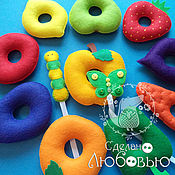 Куклы и игрушки handmade. Livemaster - original item educational toy-lacing
