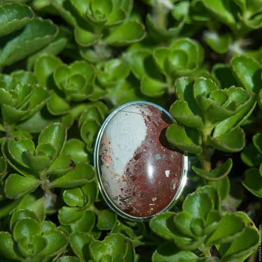 Кольца ручной работы. Ярмарка Мастеров - ручная работа. Купить Яшма (кольцо) (174). Handmade. Натуральные камни, природный камень