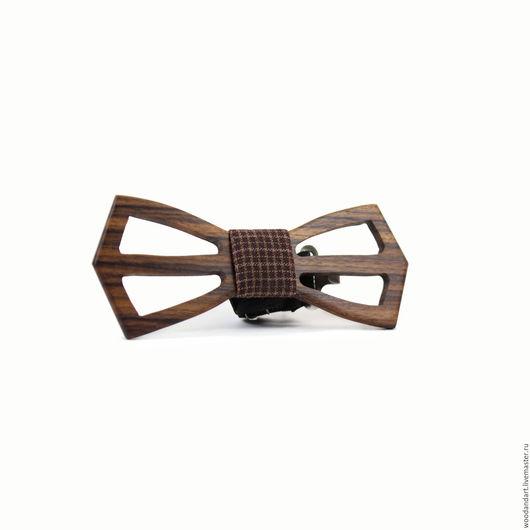 Галстуки, бабочки ручной работы. Ярмарка Мастеров - ручная работа. Купить Деревянная галстук- бабочка. Light. Палисандр.. Handmade. Коричневый