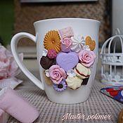 Кружки ручной работы. Ярмарка Мастеров - ручная работа Вкусности к чаю. Handmade.