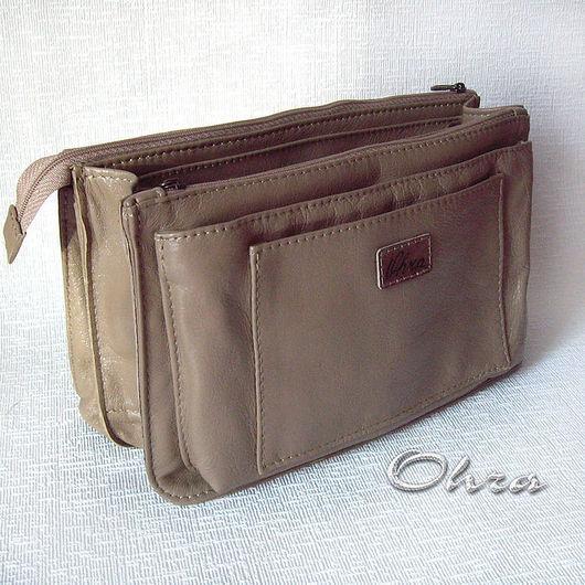 Органайзеры для сумок ручной работы. Ярмарка Мастеров - ручная работа. Купить Тинтамар мини (органайзер для женской сумочки). Handmade. Тинтамар