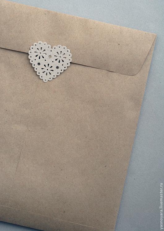 Упаковка ручной работы. Ярмарка Мастеров - ручная работа. Купить Крафт-пакет для упаковки открыток (продаётся в дополнение к покупке). Handmade.