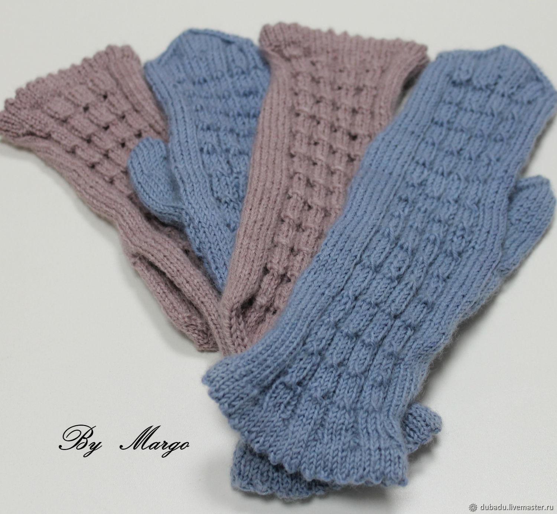 Winter woolen mittens, handmade, Mittens, Moscow,  Фото №1