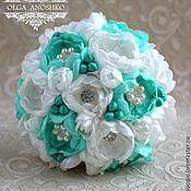 Свадебный салон handmade. Livemaster - original item In stock! Brooch-bouquet