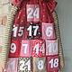 Новый год 2018 ручной работы. Адвент-календарь. Мартынова Светлана: toys@bags. Ярмарка Мастеров. Текстиль для интерьера, хлопок американский