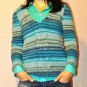 Одежда ручной работы. Ярмарка Мастеров - ручная работа Пуловер в стиле Casual. Handmade.