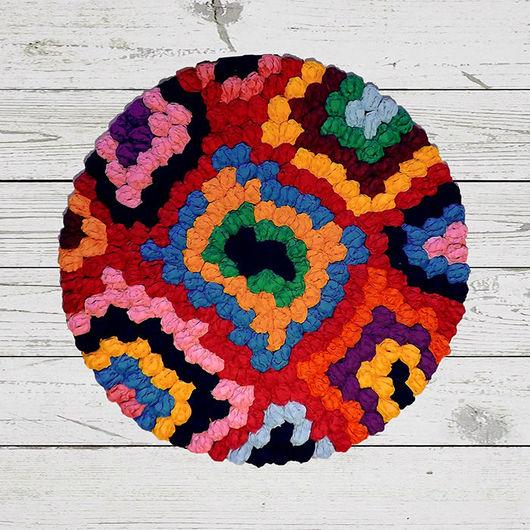 Текстиль, ковры ручной работы. Купить ковер ручной работы «Марокко». C O N C E N T R I C, concentriс. Ярмарка Мастеров.
