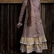 Одежда ручной работы. Ярмарка Мастеров - ручная работа Пальто с секретом. Handmade.