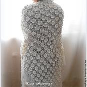 """Аксессуары ручной работы. Ярмарка Мастеров - ручная работа шаль """"Вальс цветов"""". Handmade."""