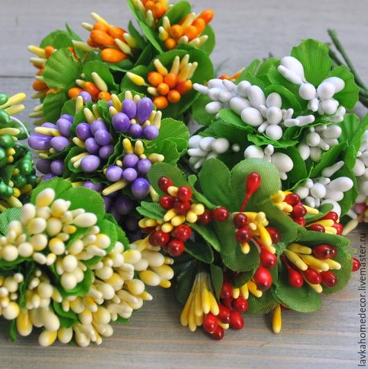 Цветы 10шт букет №4, 8 расцветок