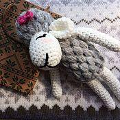 Куклы и игрушки ручной работы. Ярмарка Мастеров - ручная работа Овечка Лопоуш. Handmade.