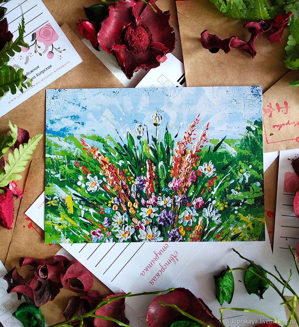 Авторские открытки в вконтакте