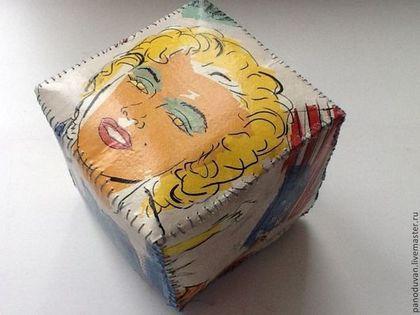"""Прихожая ручной работы. Ярмарка Мастеров - ручная работа Интерьерный куб"""" мерилин"""". Handmade."""