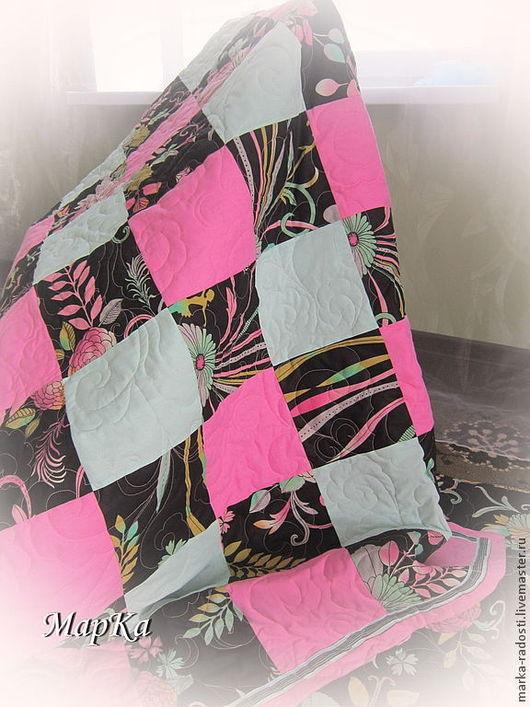Текстиль, ковры ручной работы. Ярмарка Мастеров - ручная работа. Купить Одеяло лоскутное Гламурные сны. Handmade. Одеяло пэчворк