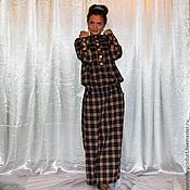 """Одежда ручной работы. Ярмарка Мастеров - ручная работа Платье """"Современная принцесса ремикс в клетку"""". Handmade."""