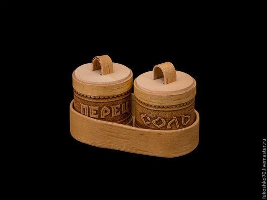 """Кухня ручной работы. Ярмарка Мастеров - ручная работа. Купить Набор для специй """"Соль-перец"""". Handmade. Подарок, сувениры"""