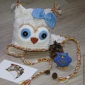 """Работы для детей, ручной работы. Ярмарка Мастеров - ручная работа Шапка детская """"совушка"""". Handmade."""