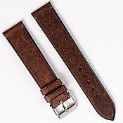 Украшения handmade. Livemaster - original item Brown Genuine leather strap. Handmade.