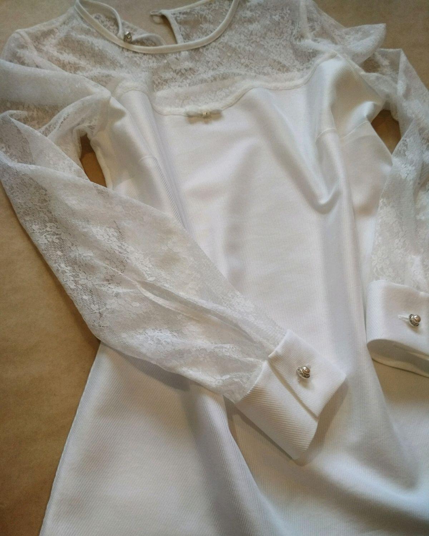 Блуза в романтическом стиле, Блузки, Москва,  Фото №1