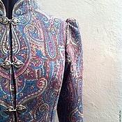 """Одежда ручной работы. Ярмарка Мастеров - ручная работа Пальто """"А-ля-рюс"""". Handmade."""