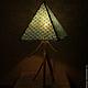 Освещение ручной работы. Пирамида Света. СВЕТОЯРЪ. Интернет-магазин Ярмарка Мастеров. Светильник, светильник ручной работы, Дерево натуральное