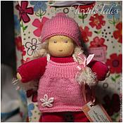 Куклы и игрушки ручной работы. Ярмарка Мастеров - ручная работа Вальдорфская куколка в кармашек. Handmade.