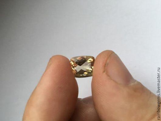 Берилл натуральный желтый.(Гелиодор) Вес: 4.22 карат