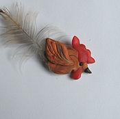Подарки к праздникам ручной работы. Ярмарка Мастеров - ручная работа Петушок брелок подвеска Новогоднее украшение. Handmade.