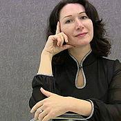 Одежда handmade. Livemaster - original item black blouse from jersey with chiffon sleeves. Handmade.