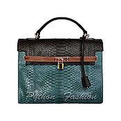 Сумки и аксессуары handmade. Livemaster - original item Bag made of Python BIRELLI. Handmade.