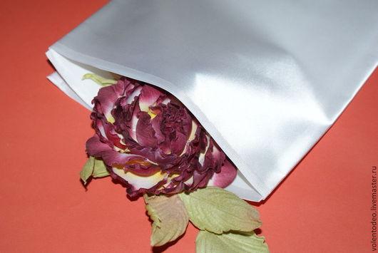 Ткань для цветов ручной работы. Ярмарка Мастеров - ручная работа. Купить Ткань для цветоделия - Сатин 12000. Handmade. Белый
