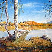 Картины и панно handmade. Livemaster - original item The picture colours of autumn. Handmade.