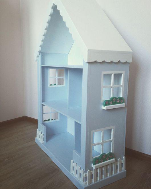 Кукольный дом ручной работы. Ярмарка Мастеров - ручная работа. Купить Кукольный домик стеллаж. Handmade. Домик, кукла