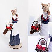 """Куклы и игрушки ручной работы. Ярмарка Мастеров - ручная работа Авторская кукла """"Куница-ягодница"""". Handmade."""