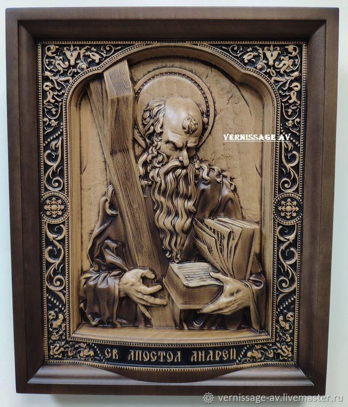 Икона Апостол Андрей, Иконы, Санкт-Петербург,  Фото №1