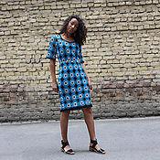 Одежда ручной работы. Ярмарка Мастеров - ручная работа Платье туника вязаная. Handmade.