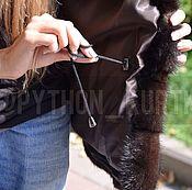Одежда ручной работы. Ярмарка Мастеров - ручная работа Шуба Трансформер из меха норки. Handmade.
