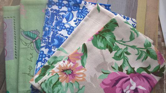 Наборы хлопковых полотенец из Рогожки. 2 штуки.