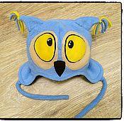 Работы для детей, ручной работы. Ярмарка Мастеров - ручная работа Шапочка - сова. Handmade.
