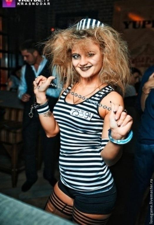 Победительница конкурса `Самый лучший образ Halloween` от модного ночного клуба г Краснодара.
