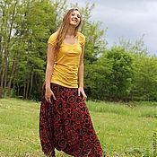 """Одежда ручной работы. Ярмарка Мастеров - ручная работа афгани """" Восточный цветок"""". Handmade."""