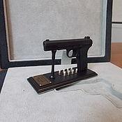"""Сувениры и подарки ручной работы. Ярмарка Мастеров - ручная работа Действующая миниатюрная копия пистолета """"ТТ"""" образца 1933 г.. Handmade."""