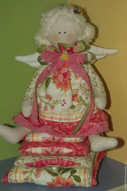 Куклы Тильды ручной работы. Ярмарка Мастеров - ручная работа. Купить Принцесса на горошине Тильда. Handmade. Комбинированный, подарок подруге