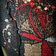 Платья ручной работы. Платье валяное Японский клен. Юлия Блохина           (Wool charm). Ярмарка Мастеров. Шерстяное платье
